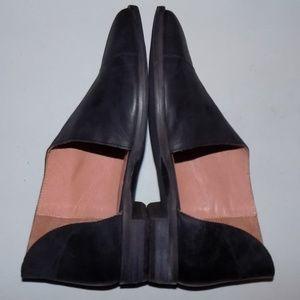 New Free People Flat Royale Black Leather EU37/US7